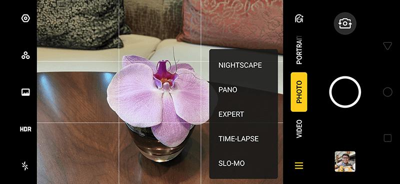 Feature-rich camera app