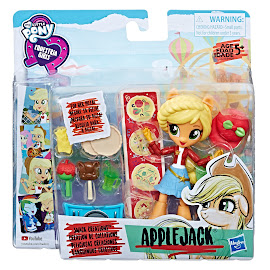 My Little Pony Equestria Girls Minis Theme Park Collection Snack Creations Applejack Figure