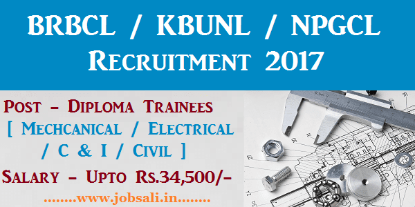 Diploma electrical jobs in power plant, Bhartiya rail bijlee corporation careers, Diploma mechanical fresher jobs