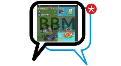 BBM Mod Keroppi Imut v2.13.1.14 Apk Change Theme