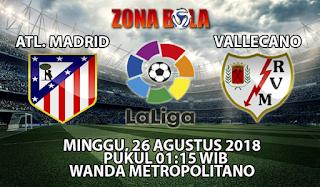Prediksi Bola Atletico Madrid vs Rayo Valllecano 26 Agustus 2018
