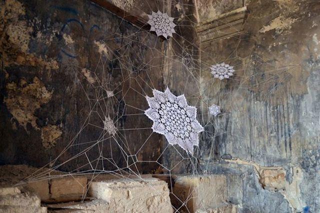 Grafiti Terbaik 2015 - grafiti laba-laba, alng alang, hewan dan binatang