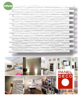 Paneles decorativos de poliuretano imitación ladrillo