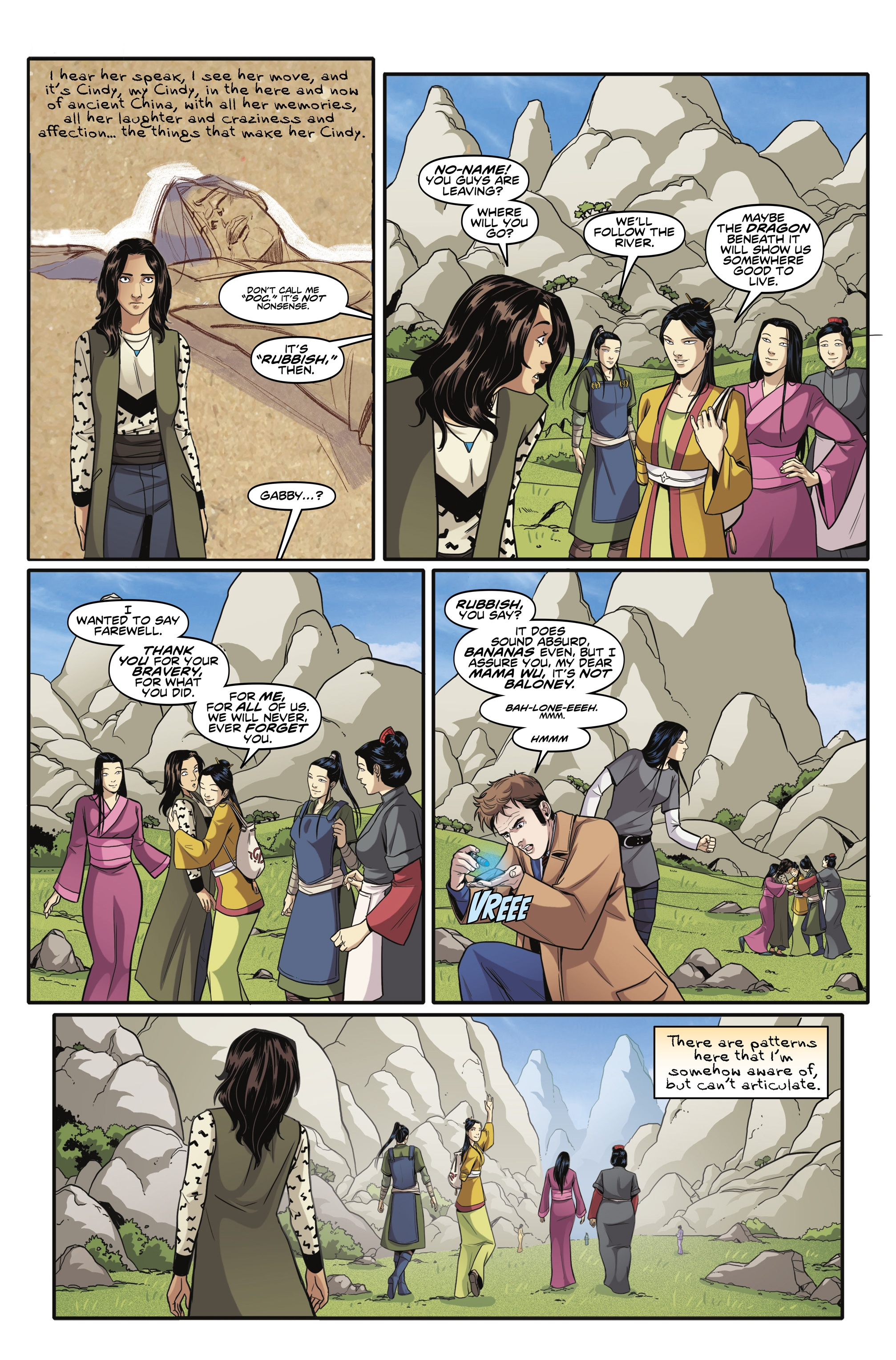 Read online Doctor Who: The Tenth Doctor Year Three comic -  Issue #6 - 10