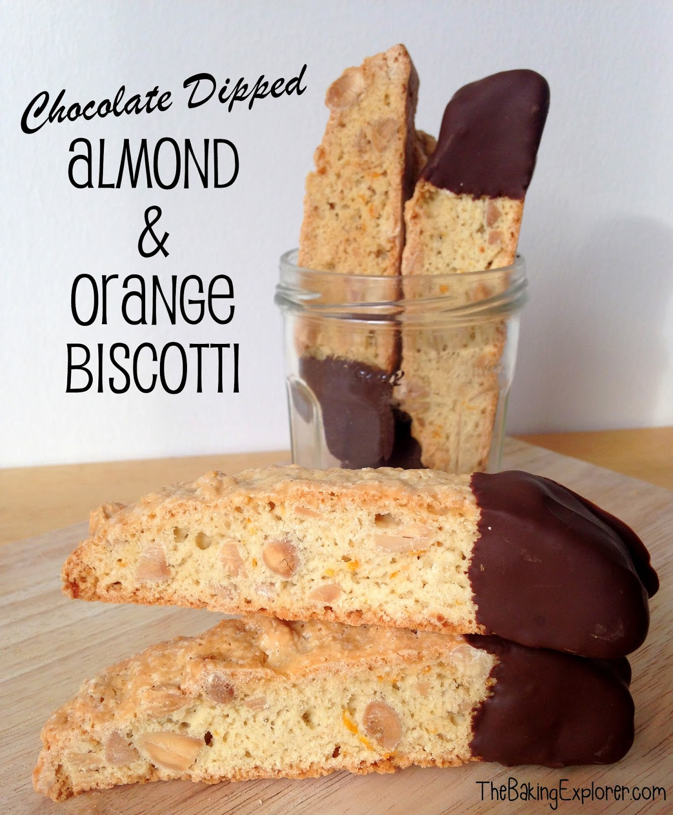 ... Explorer: Chocolate Dipped Almond & Orange Biscotti: GBBO Week #2