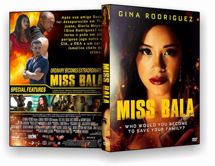 CAPA DVD – Miss Bala – DVD-R