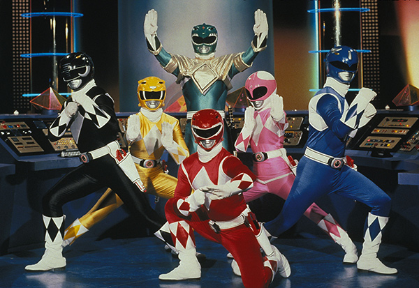 Power Rangers Characters