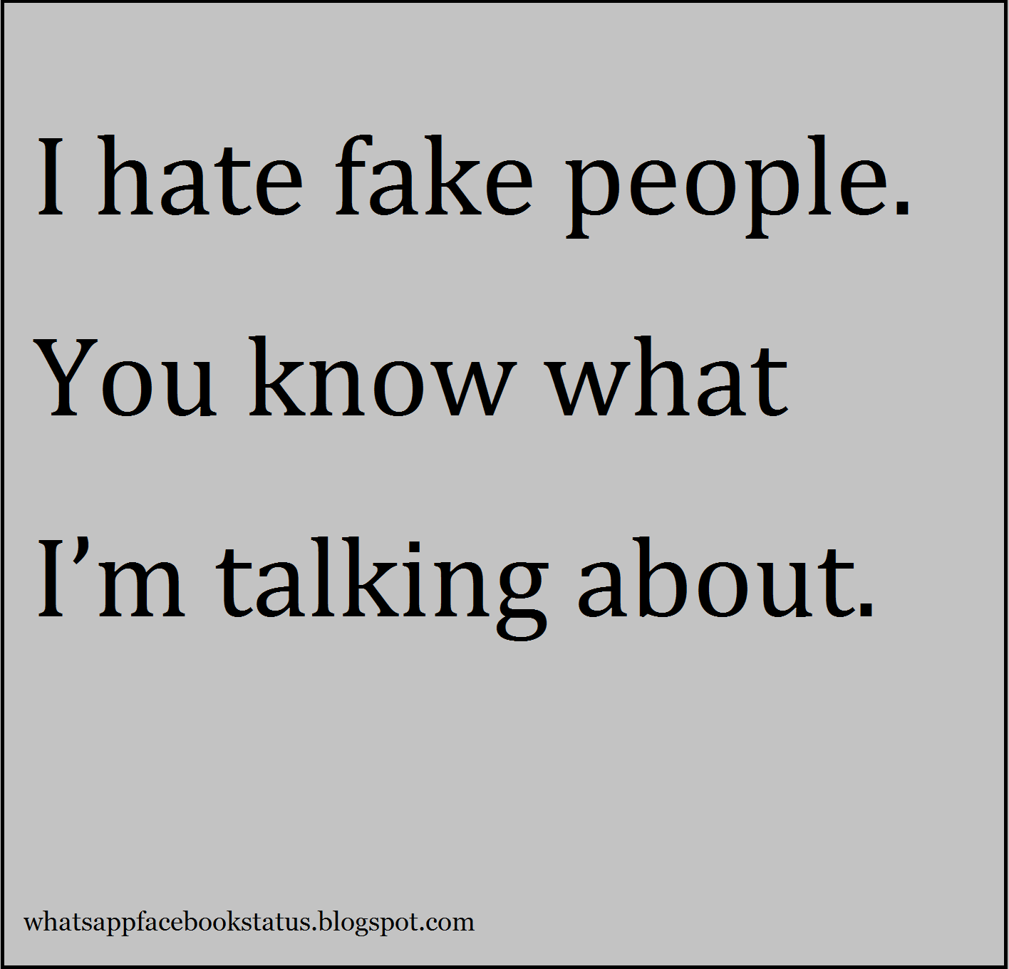 Fake People Fake Friends Status For Facebook Whatsapp