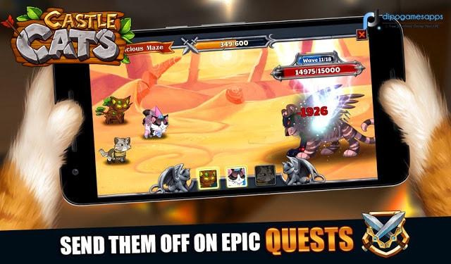 Download Castle Cats MOD APK Latest Version