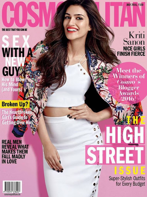 Actress, Model, @ Kriti Sanon - Cosmopolitan Magazine July 2016