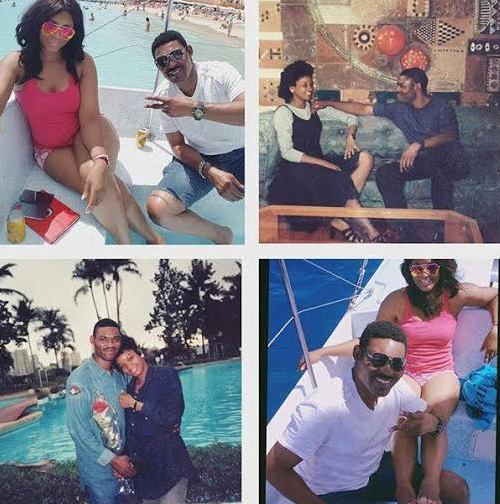 Omotola shares photos comparing her st honeymoon to