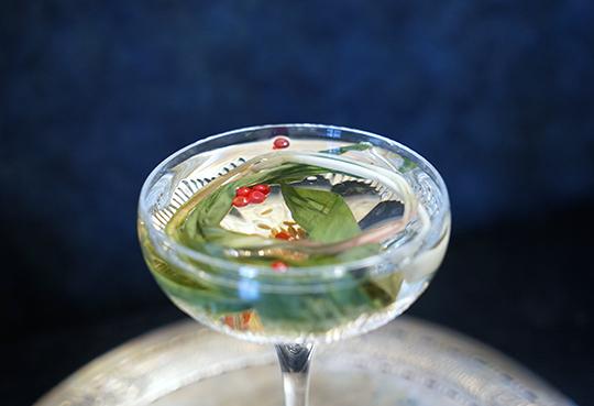 Ramp Gibson Martini