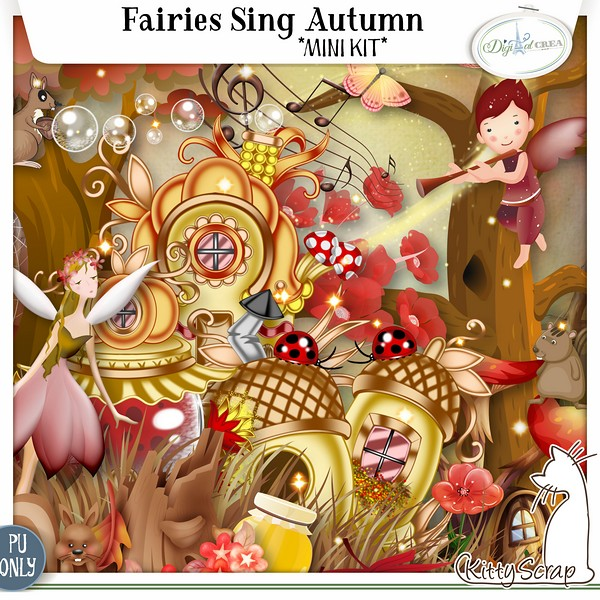 preview_fairies_sing_autumn_kittyscrap dans Novembre