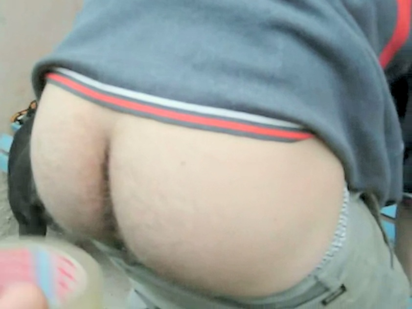 boys hairy butt