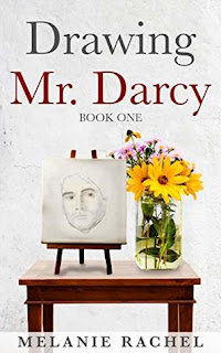 Book cover - Drawing Mr. Darcy: Sketching His Character by Melanie Rachel