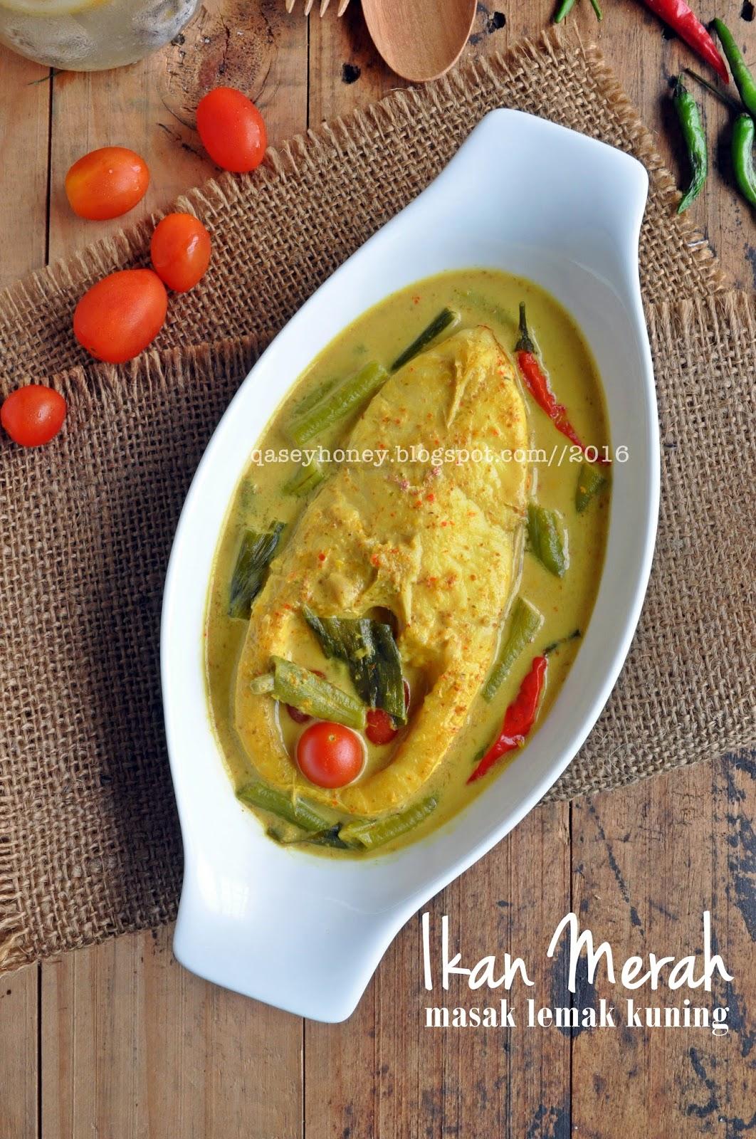 Ikan Merah Masak Lemak Kuning Qasey Honey