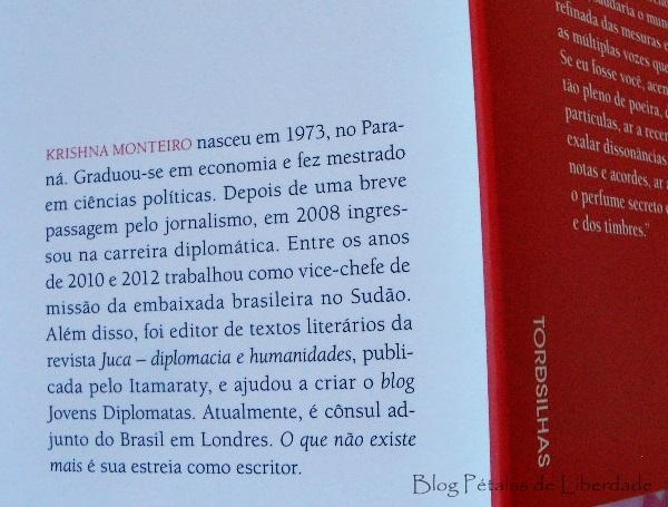 sobre-o-autor, Resenha, livro, O-que-não-existe-mais, Krishna-Monteiro, Tordesilhas, capa, opiniao, trechos, foto, contos