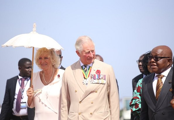 Prince Charles is on an eight-day tour of Gambia, Ghana and Nigeria - his first overseas trip to Commonwealth countries