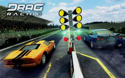 لعبة سباق السيارات للأندرويد Drag Racing