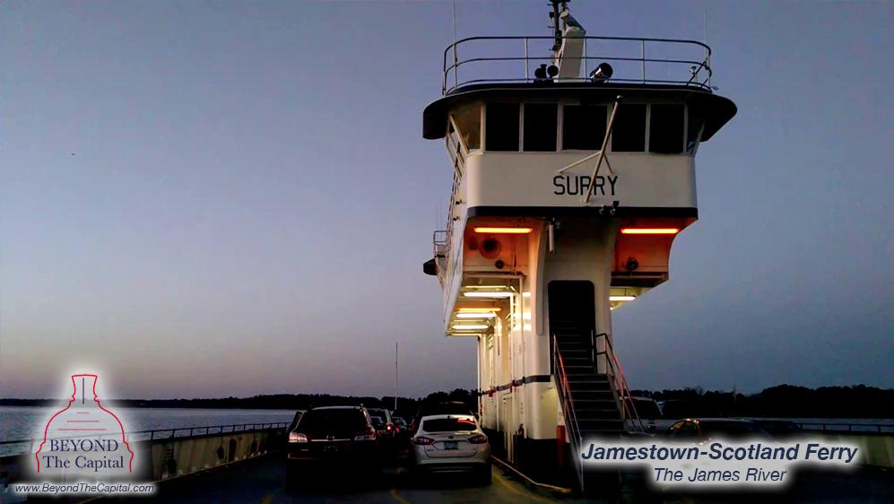 Beyond The Capital: Jamestown Scotland Ferry - Free Things