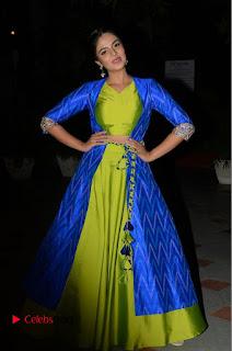 Telugu Cinema Actress Anchor Srimukhi Pictures at Rail Movie Audio Launch  0079.JPG