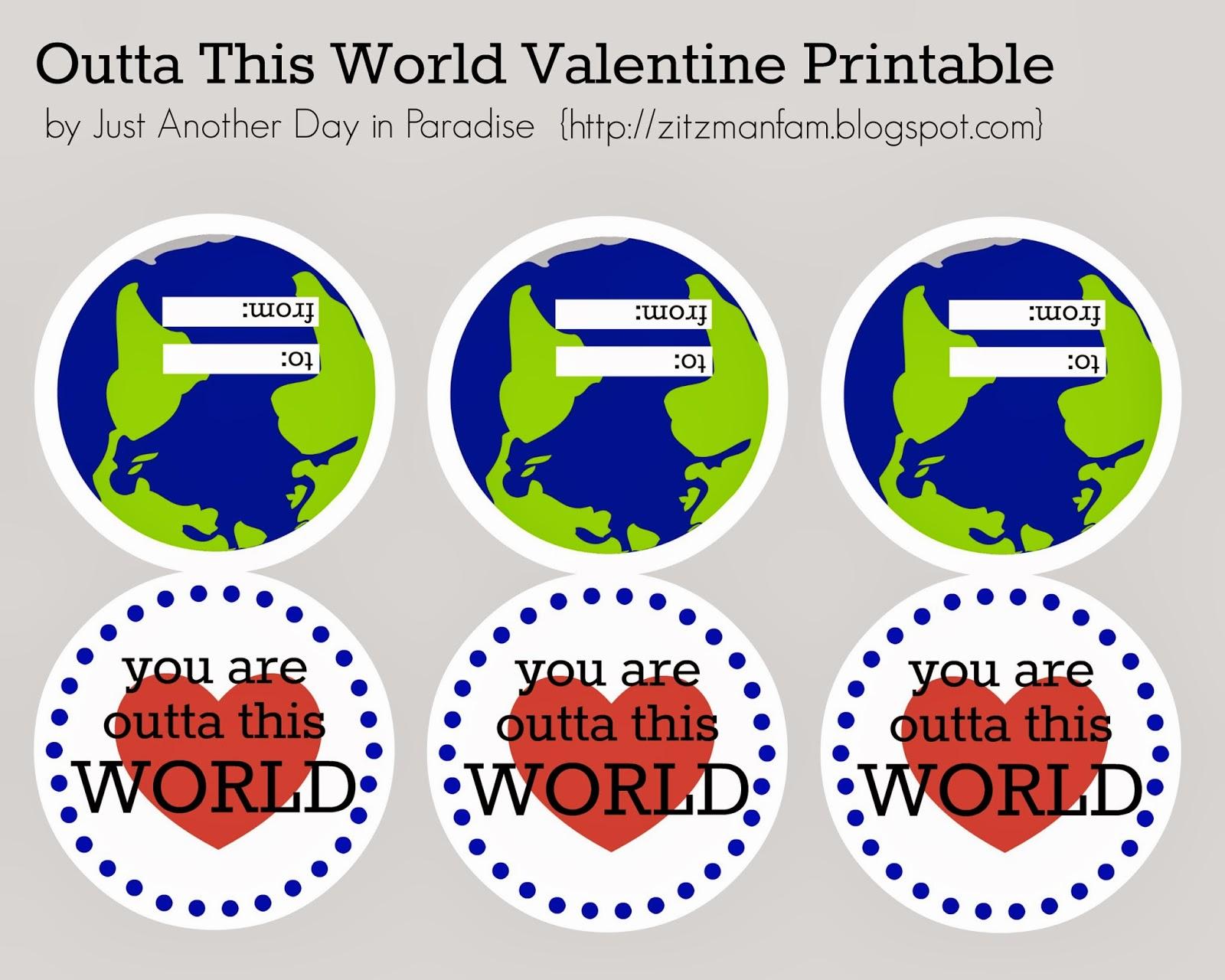Larissa Another Day Outta This World Valentine
