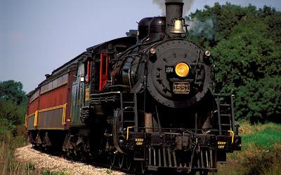 kereta api lama