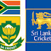 Itinerary of the Sri Lanka cricket tour of South Africa from 18th December