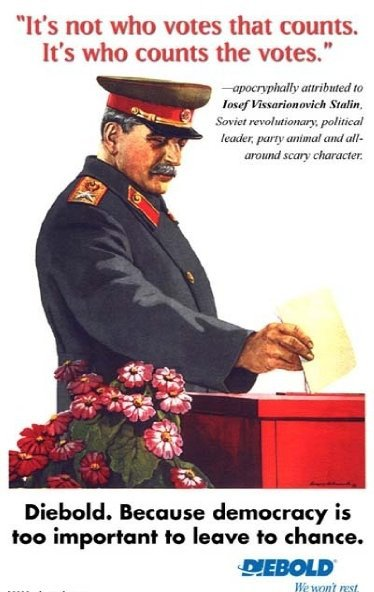 Image result for stalin who counts the votes