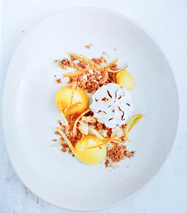 dessert assiette citron