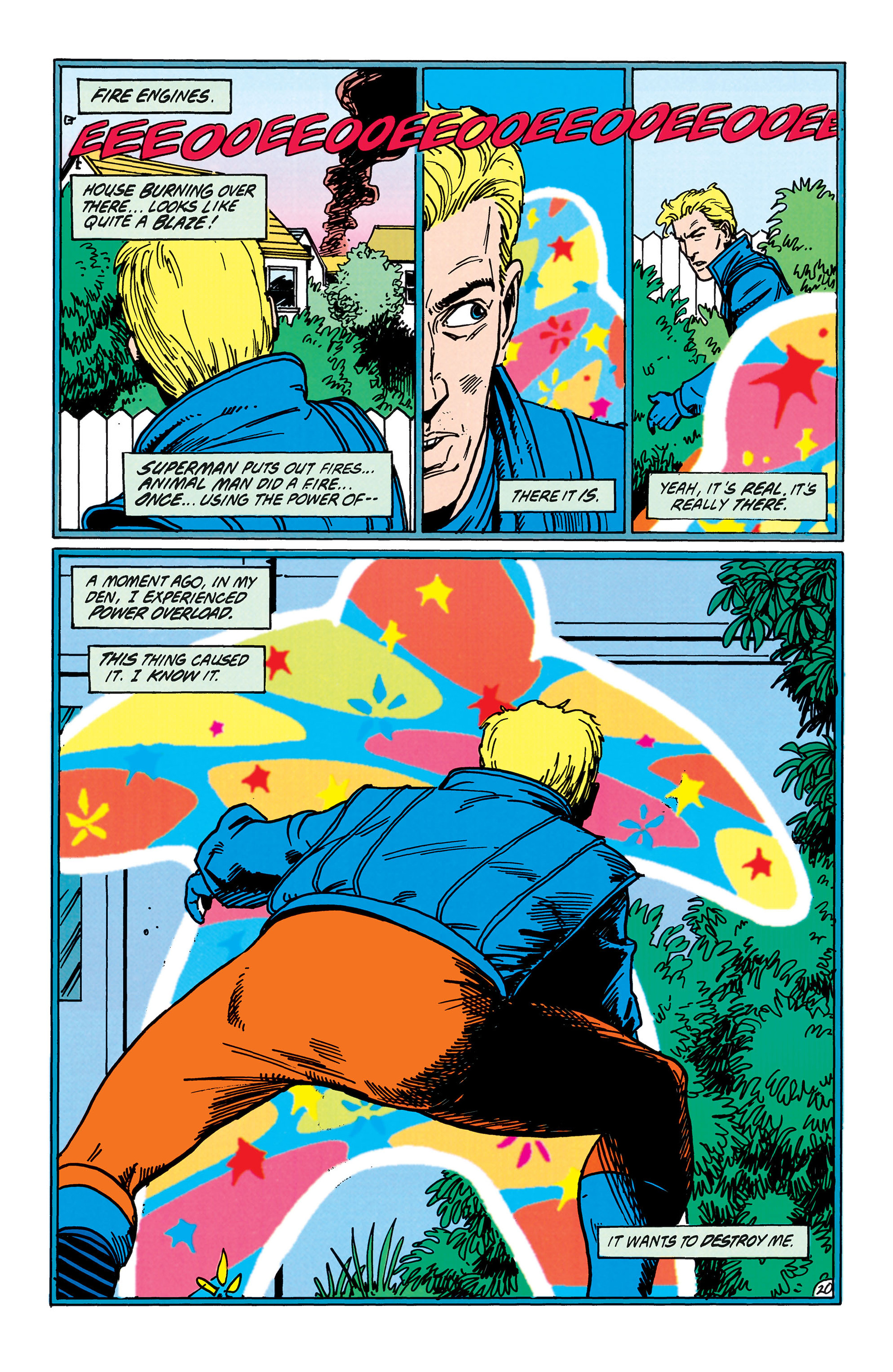 Read online Animal Man (1988) comic -  Issue #38 - 21
