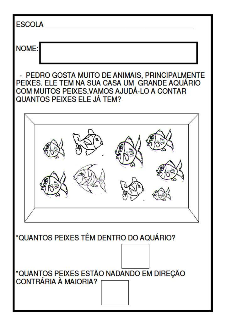 Famosos MATEMÁTICA - ATIVIDADES PARA EDUCAÇÃO INFANTIL ~ Alfabetizar com AMOR AS63