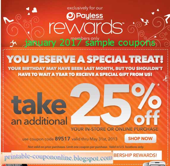 photograph regarding Payless Printable Coupons named Payless totally free shipping and delivery code : promo code 2018
