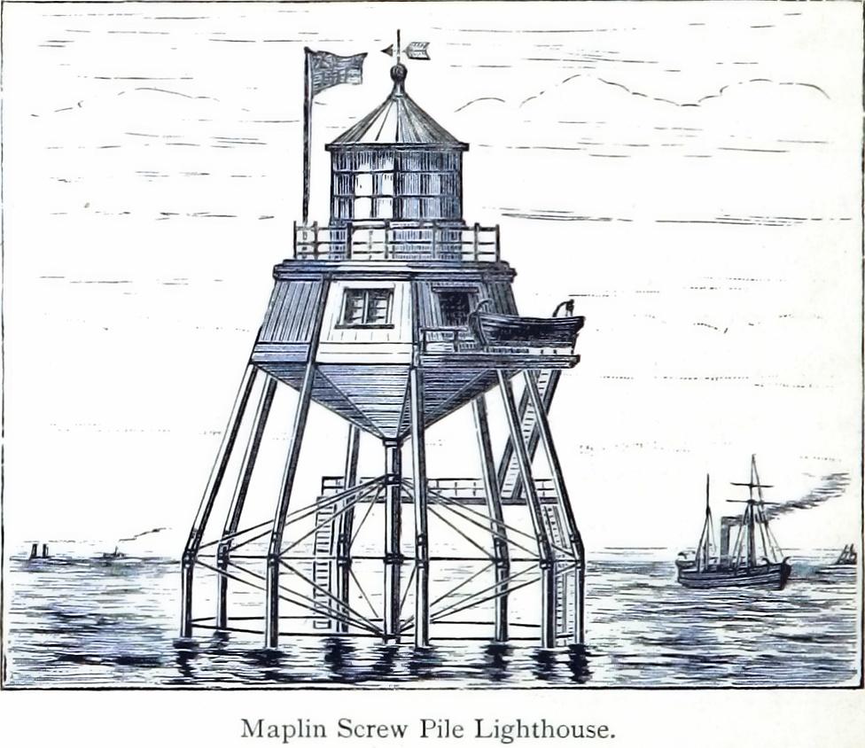 maplin screw pile lighthouse