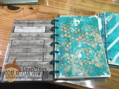 Leah Tees Mixed Media Planner Dividers OOAK Artisans