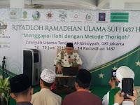 Jatman DKI Jakarta Gelar Riyadhah Ramadhan
