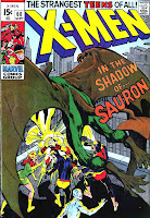 X-men v1 #60 marvel comic book cover art by Neal Adams