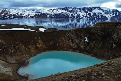 Caldera del Volcan de Asjka