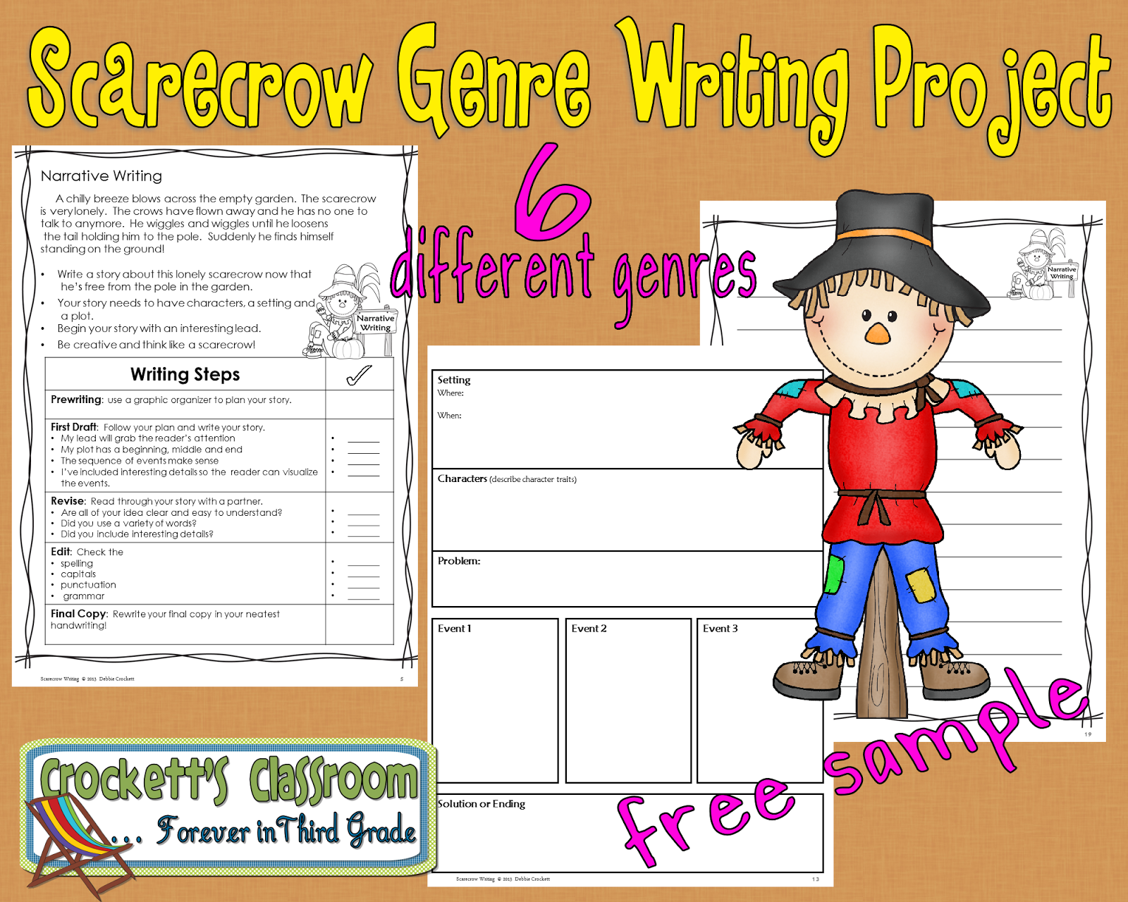 Scarecrow writing genre free sample