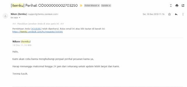 Email Itemku