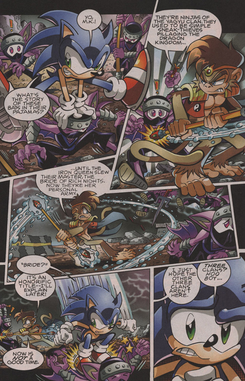 Read online Sonic The Hedgehog comic -  Issue #202 - 6