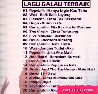 Lagu Galau Indonesia Terpopuler Yang Akan Membuat Cewek Nangis