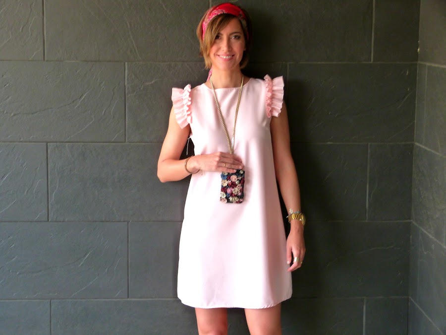 Fitness And Chicness-Light Pink Dress Vestido y Tacon-4