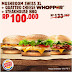 Promo KUPON HARGA HEMAT di BURGER KING bulan APRIL Periode 01-09 April 2017