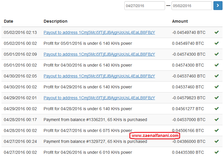 hashocean,bukti pembayaran,payment proof,cloud mining,trust