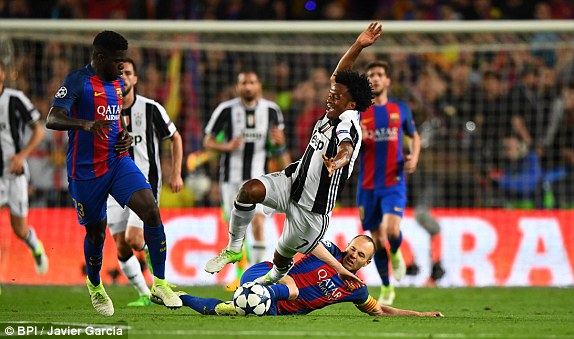 FC Barcelona 3-0 Juventus Highlights