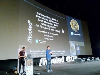 RootedCon 2019 - Pablo González y Enrique Blanco - Autoencoders, GANS y otros chicos del montón