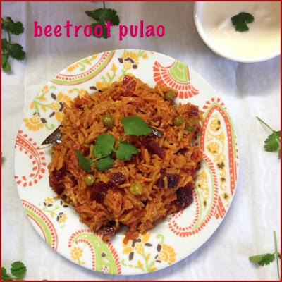 Beetroot Pulao