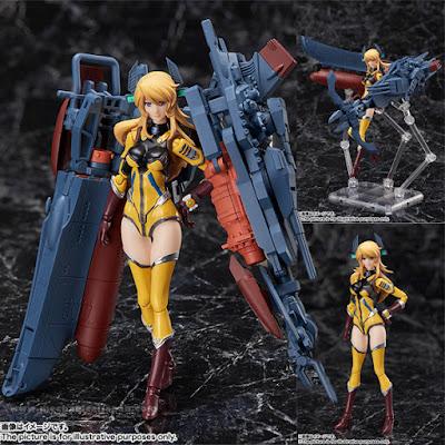 La Bandai inserisce Yuki Mori nella sua linea Armor Girls Project