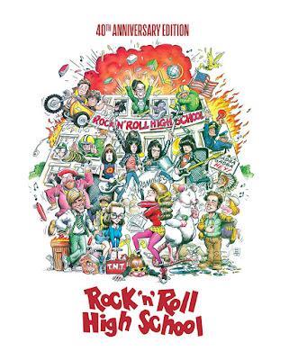 Rock N Roll High School 1979 Bluray Steelbook